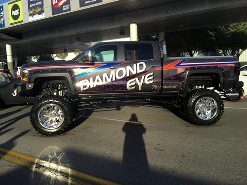 Diamond Eye - SEMA Truck 2015